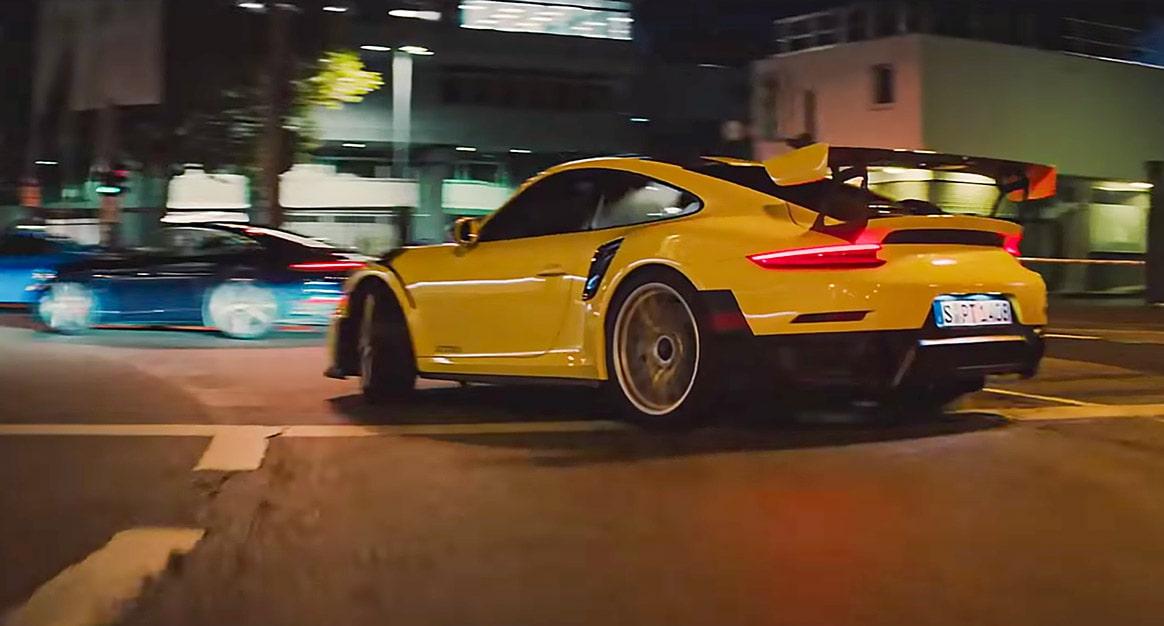 The Heist Porsche