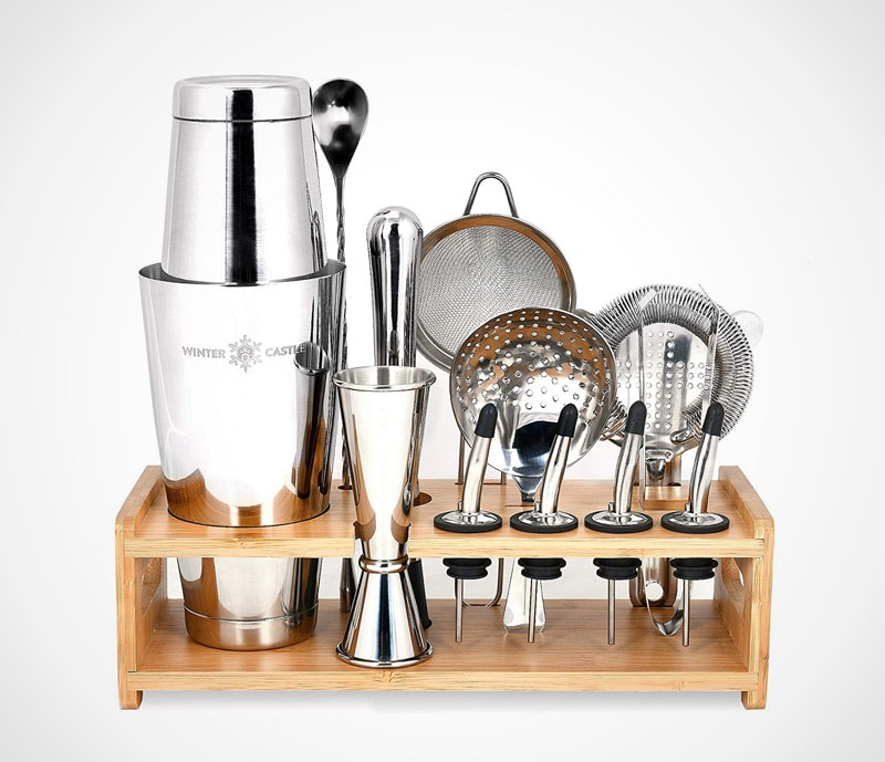 Pro set in stainless steel: a classic and professional kit