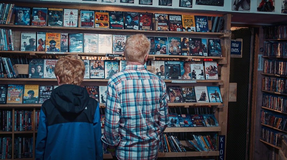 The Oldest Video Store in The World Still Renting Out DVD's and VHS's