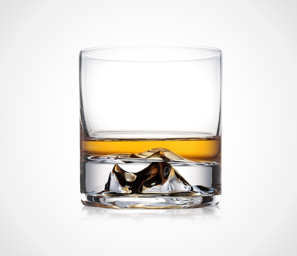 best whiskey glass 3D Everest whiskey glasses by 63Above
