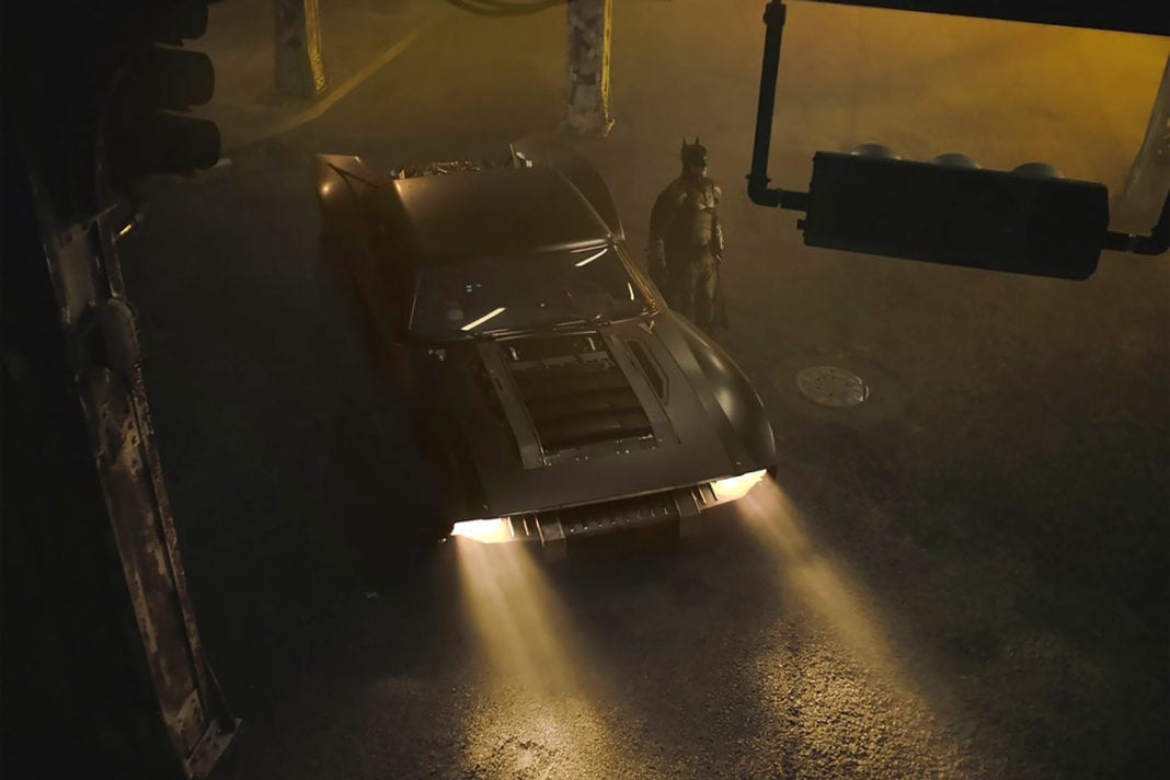 First Glimpse of The 2021 Batmobile From