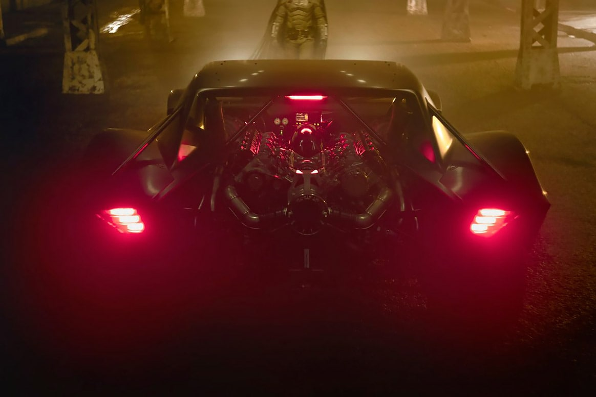 "First Glimpse of The 2021 Batmobile From ""The Batman"""