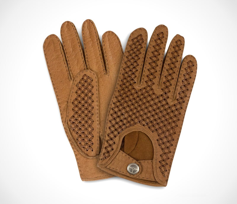 Hand-made Italian leather gloves by The Outlierman