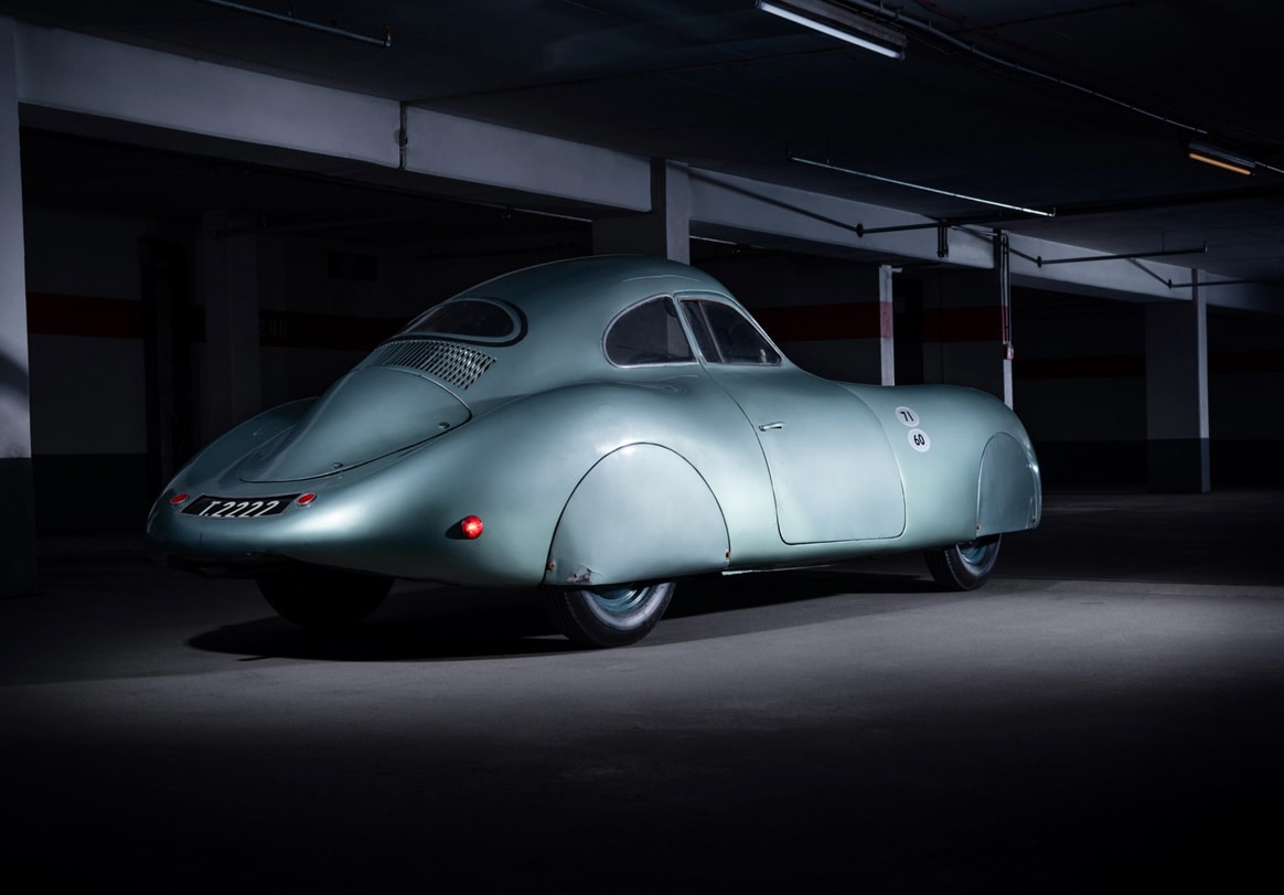 Porsche Type 64 aerodynamic body