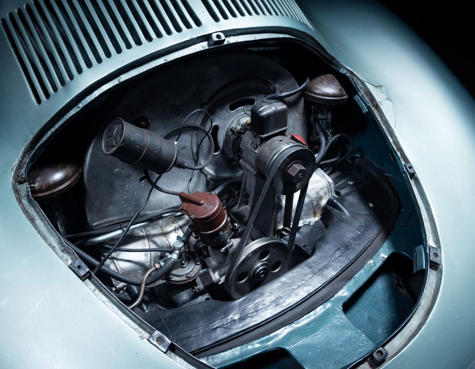 1939 Porsche Type 64 engine bay