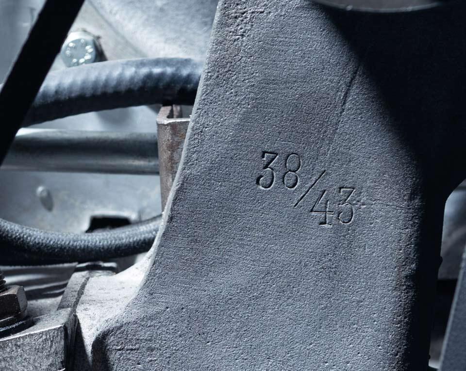 1939 Porsche Type 64 details