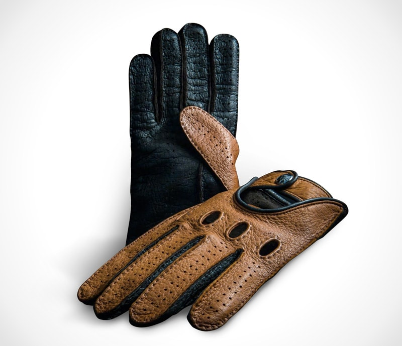 Hand-made Italian leather gloves by OPINARI