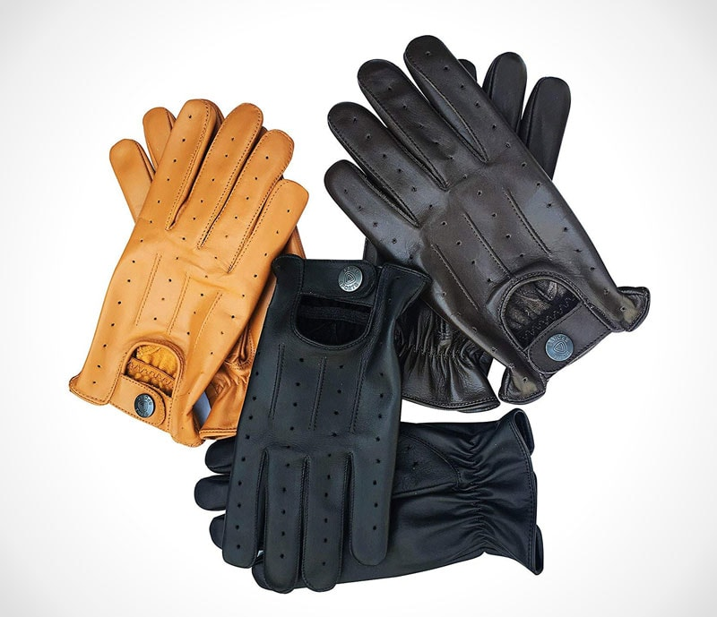 The 13 best classic leather driving gloves The classic perforated driving gloves by Prime Leather