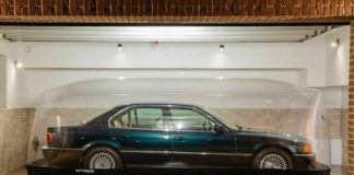 Mint Condition BMW 740i Has Been Stored In An Air-bubble For 23-years