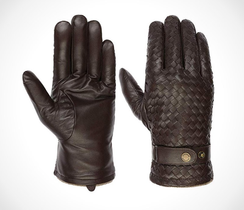 Stetson Sheep Nappa Leather Gloves Men