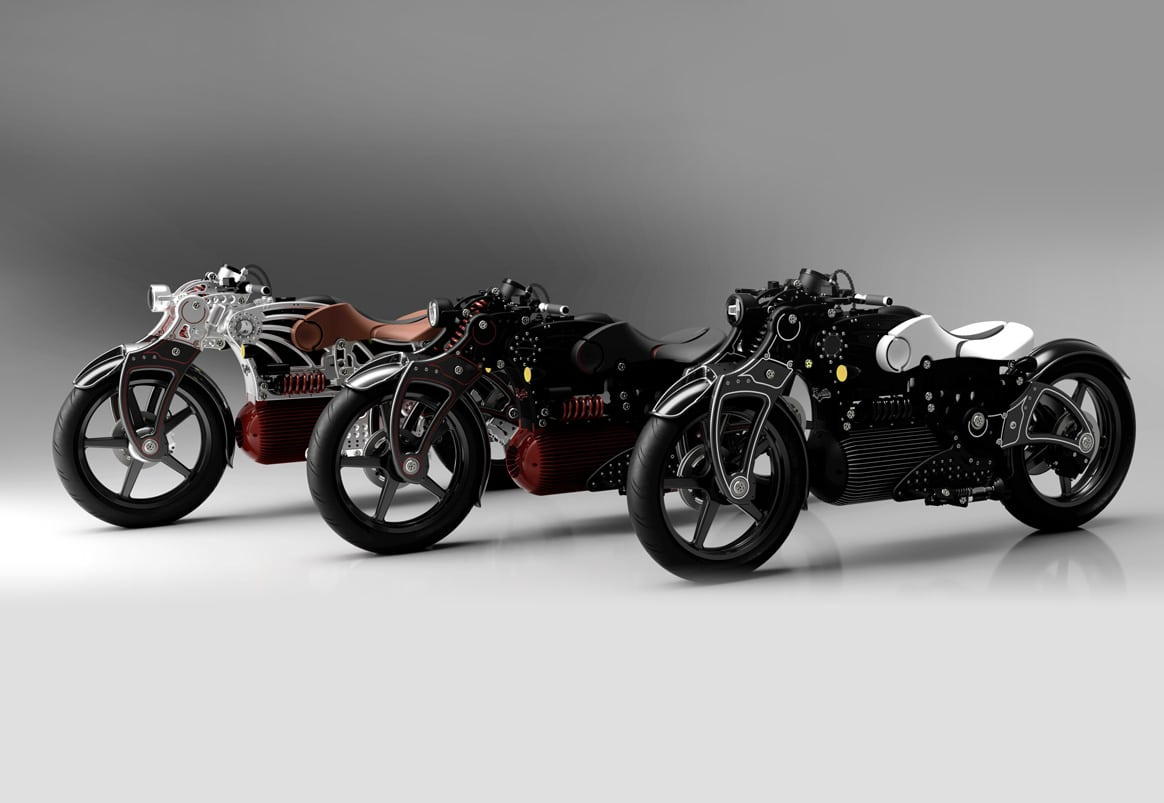 First Symmetrical Motorcycle Is The Curtiss Hades 1 Pure   Old News Club