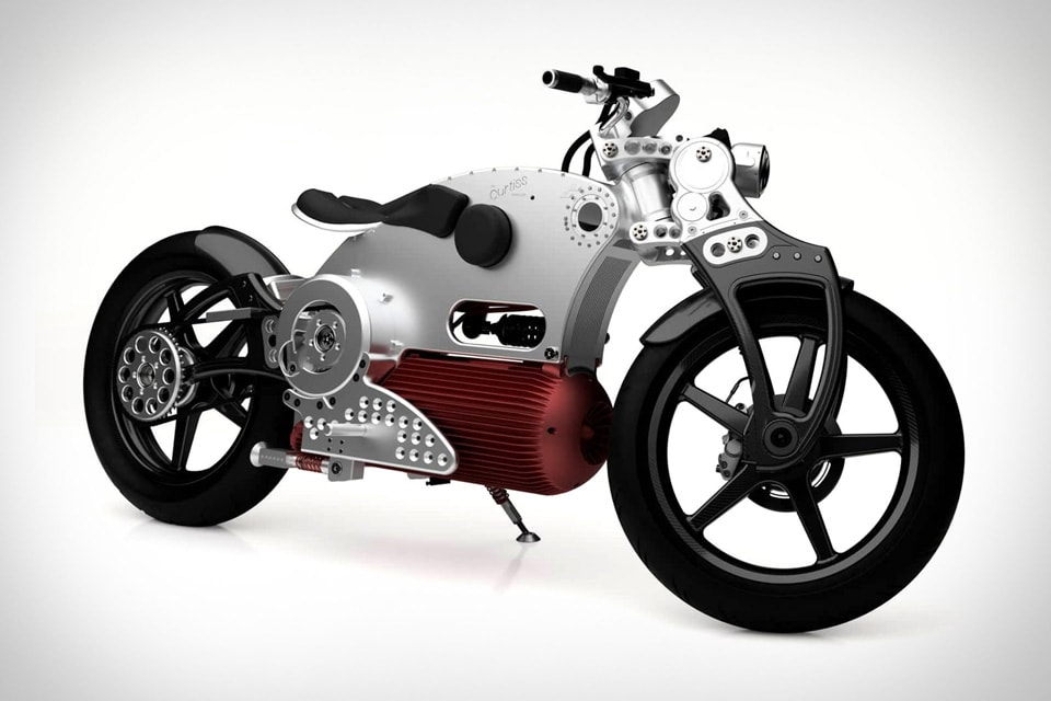 World's First Completely Symmetrical Motorcycle: Curtiss Hades 1 Pure