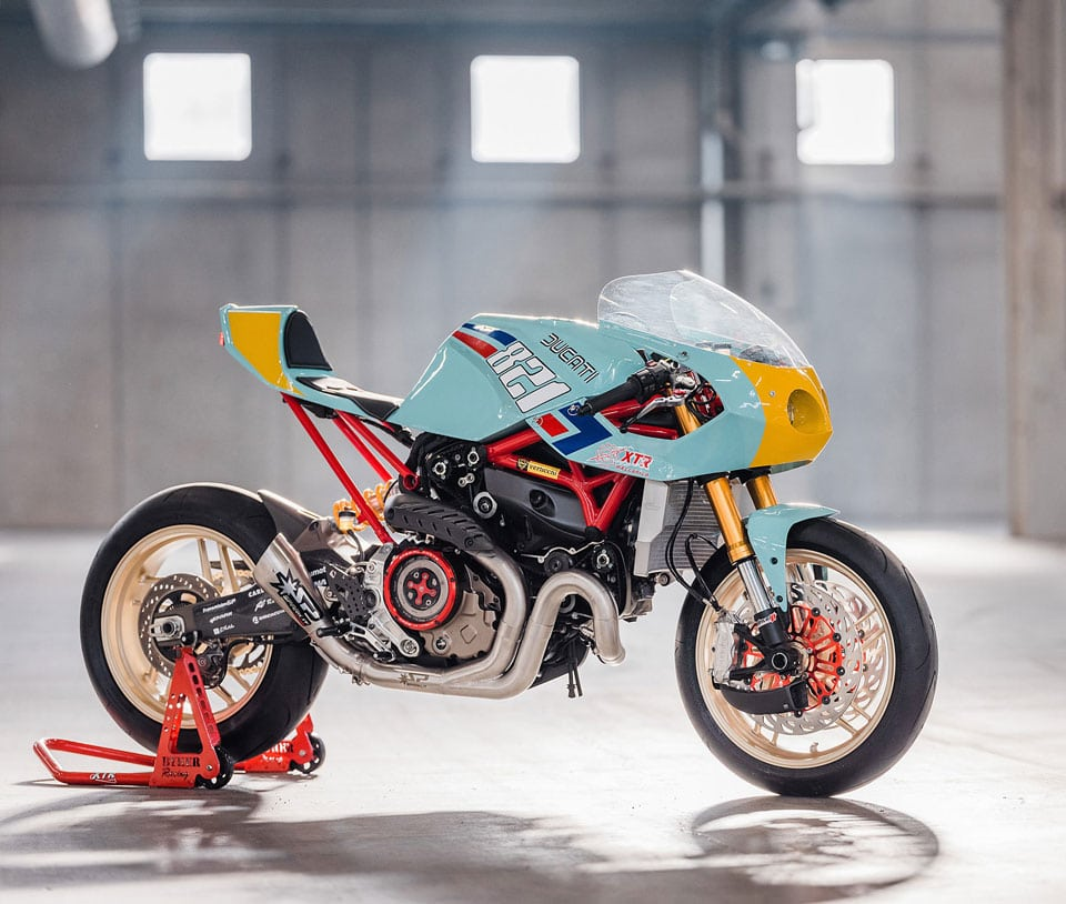 Custom Ducati Monster 821 Racer: The Pantah