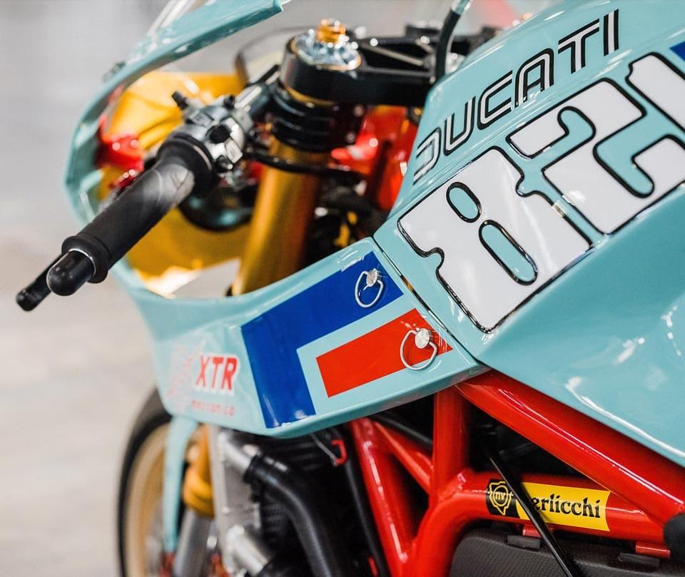 Custom Ducati Monster 821 Racer: The Pantah