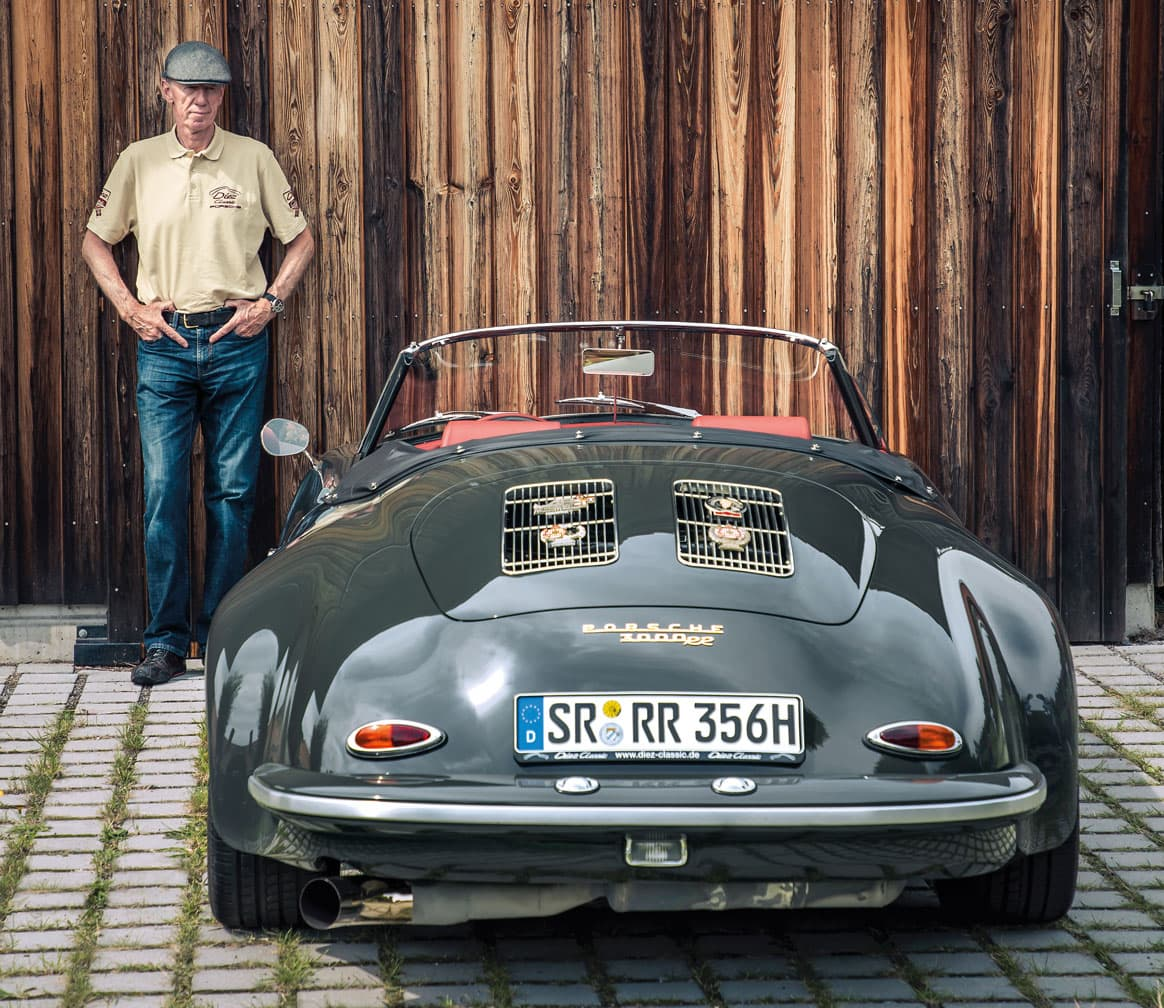Rally Legend Walter Röhrl's Porsche 356 Roadster