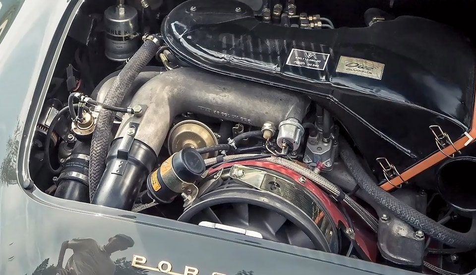 Porsche 930 Turbo engine in a Roadster 356