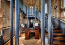 Living In a Tower From the 19th-century Converted Into Exclusive Home