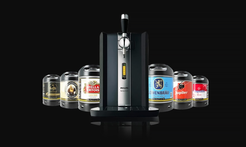 Philips Perfect Draft Machine is the Perfect Home Bar Companion