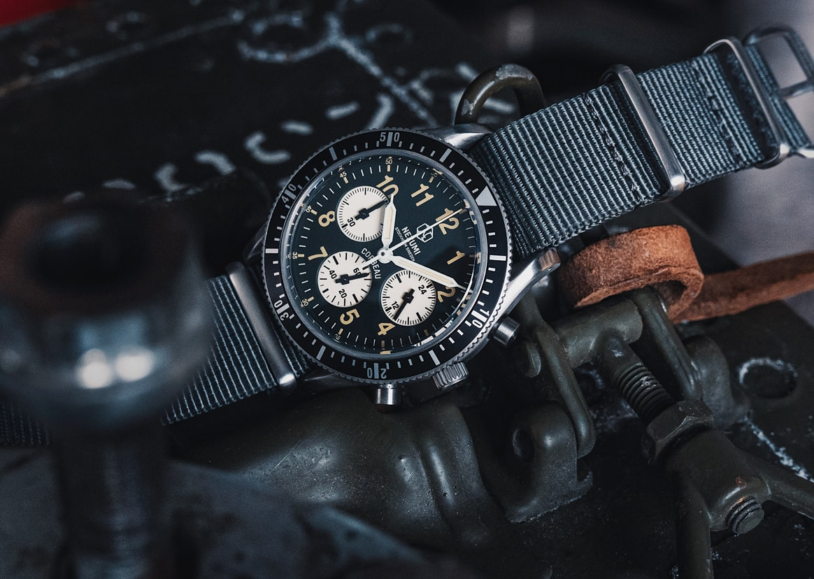 A True Mil-spec Style Chronograph by Nezumi Studios
