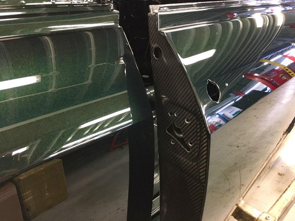 Alfaholics GTA-R 300 carbon fiber doors