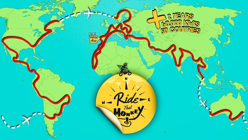 How to travel the world on a motorcycle