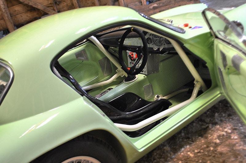 Famous 1958 Lotus Elite Restored As Race Car in TV-series