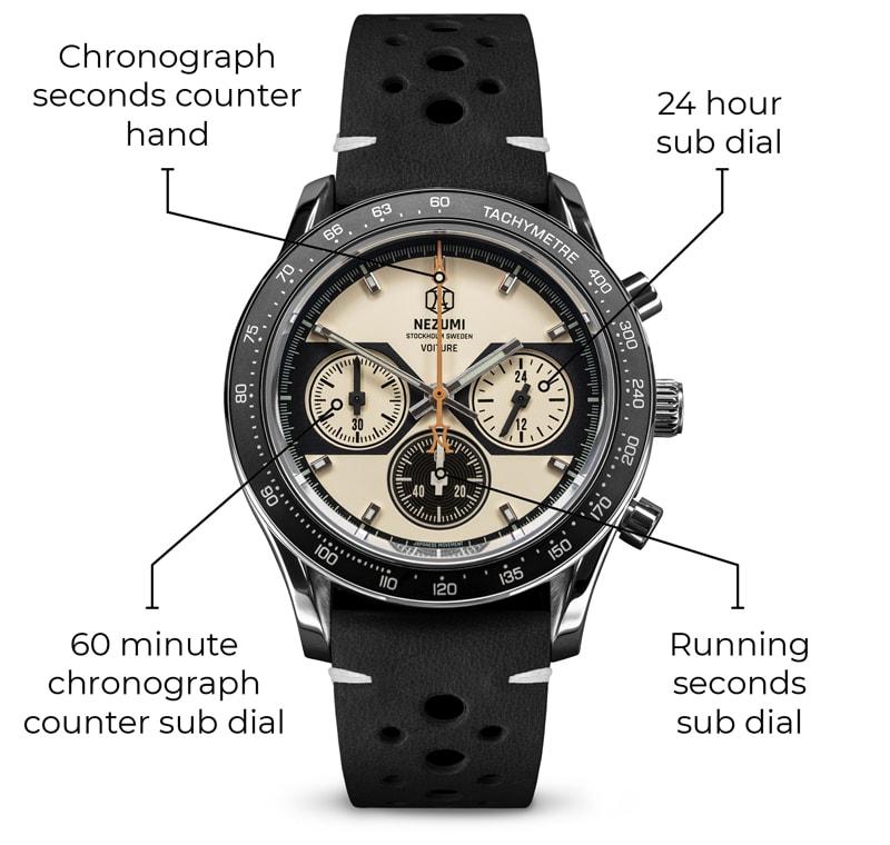 Chronograph illustration