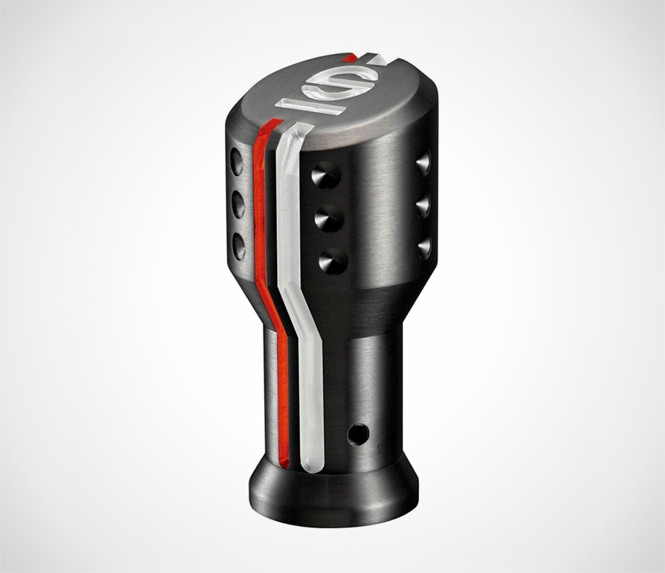 Sparco black gearknob with stripes aftermarket gear knob