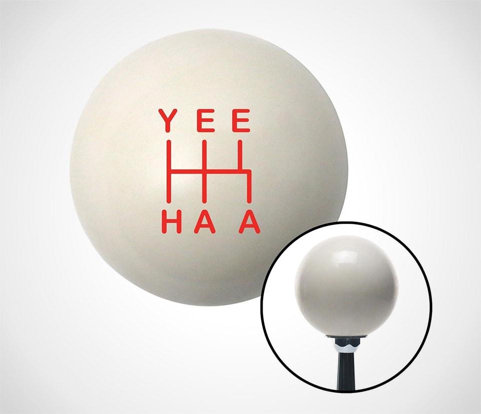 yehaa gearknob by American Shifter