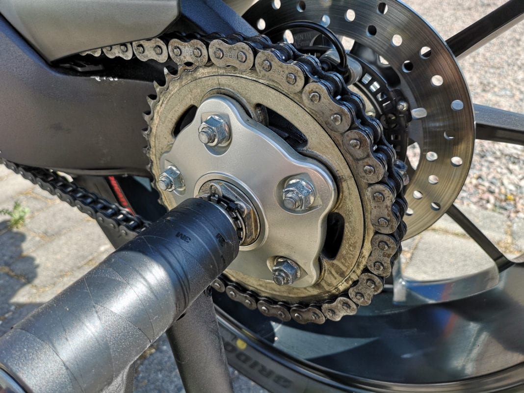how to maintain your motorcycle chain