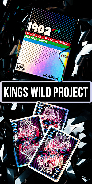 kings wild project vhs card deck