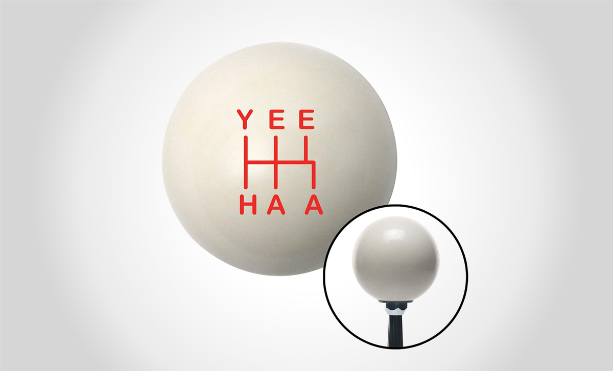 Yehaa gear knob by American Shifter