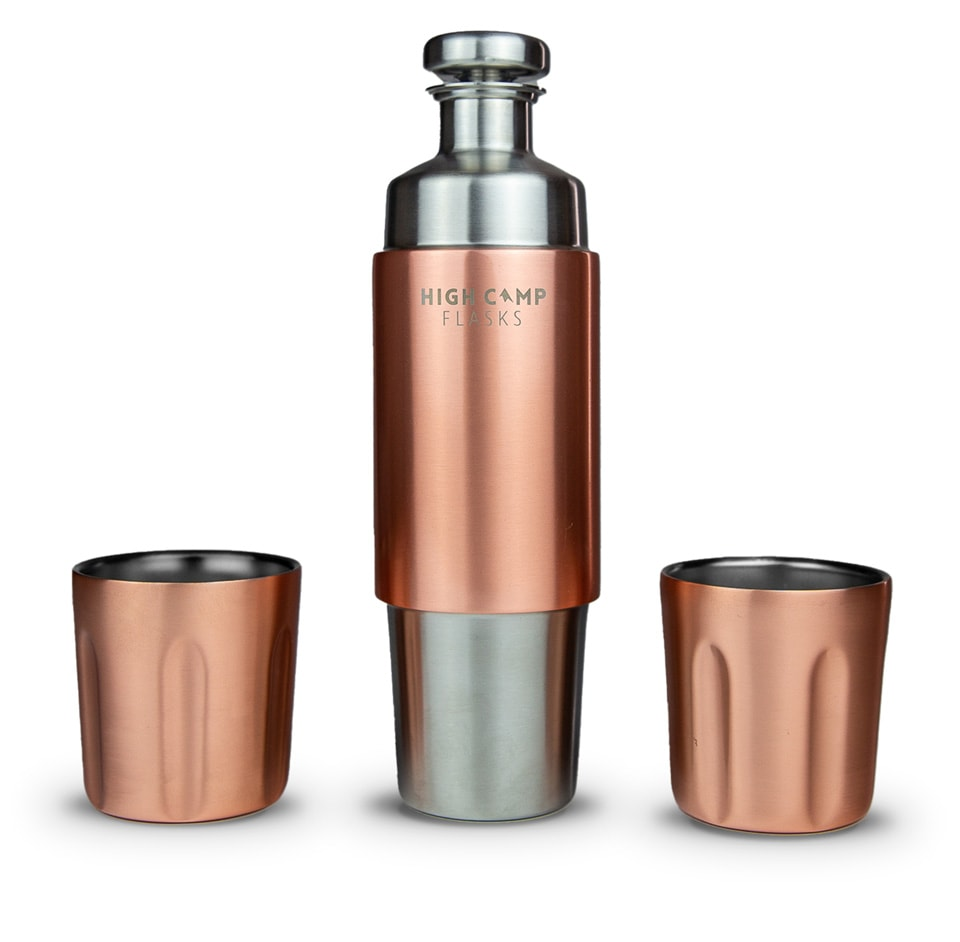 Get Your Own Custom Engraved Flask by High Camp Flasks