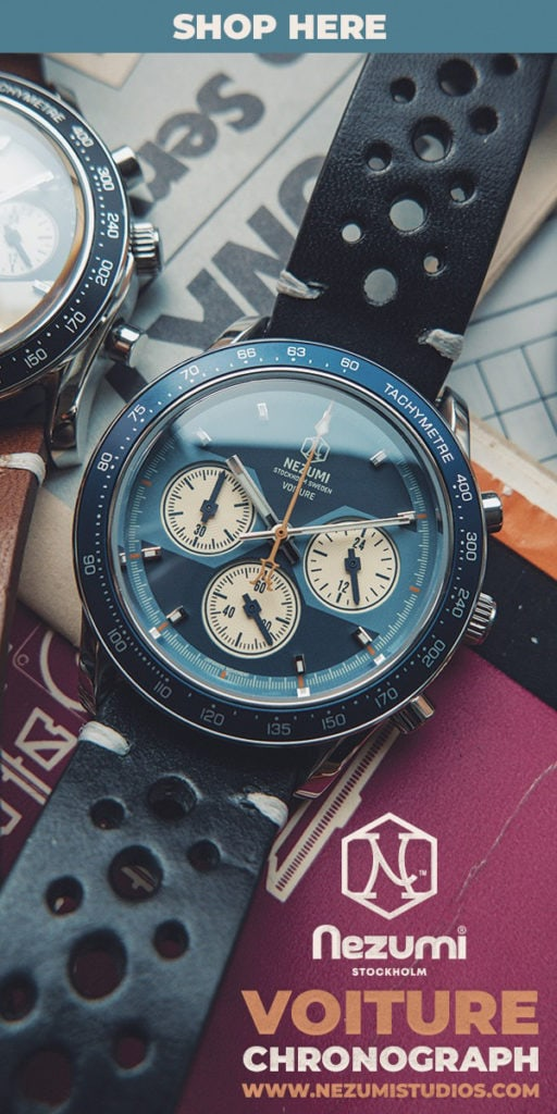Nezumi Voiture Racing Chronograph