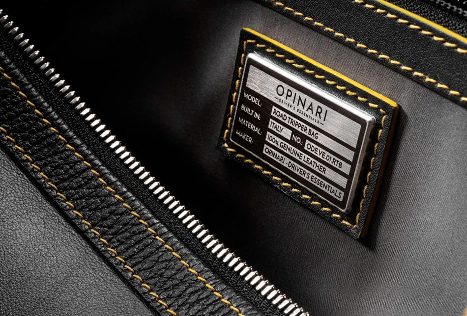 Driver's Essentials From OPINARI: Handmade Driving Gloves in Premium Quality