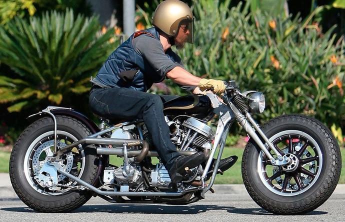 Pit bike- Brad's Zero Engineering ultra-lowrider