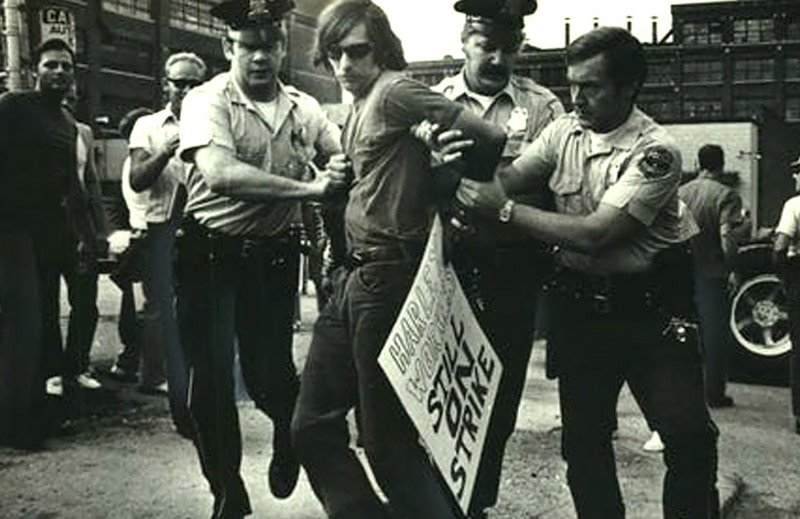 1974 strike action at the AMF Harley factory