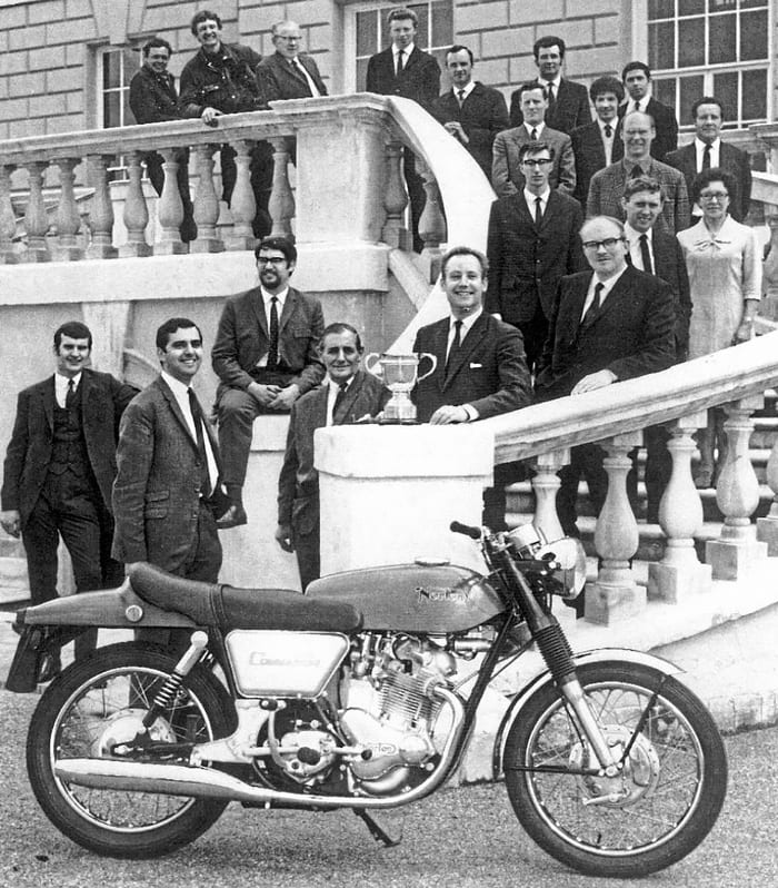 John Favill - Norton Motorcycle