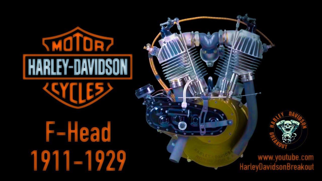 Harley-Davidson Engine Sound Comparison From 1903-2020