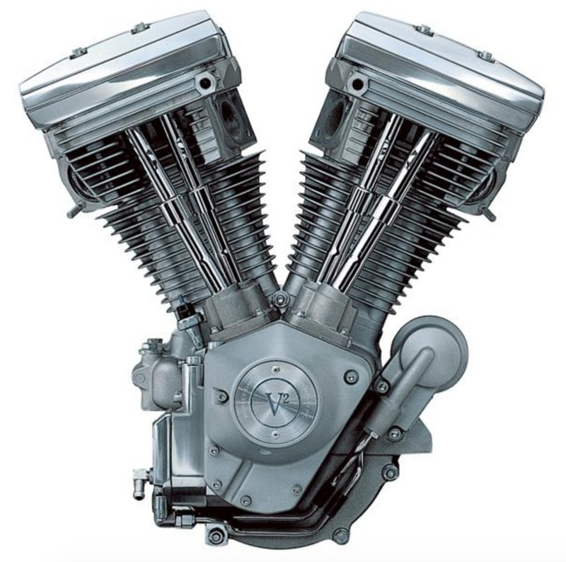 Harley-Davidson Evolution had Shovelhead cranks