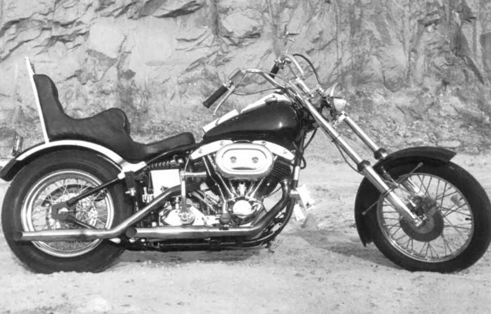 The Softail Shovelhead, Bill Davis rode to the H-D factory