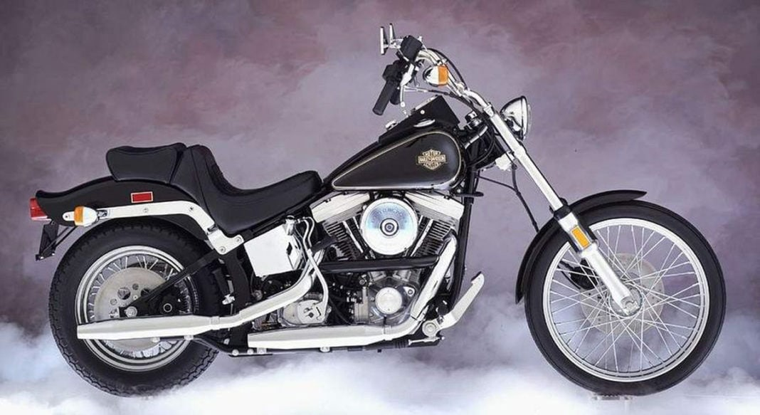 Harley Davidson FLSTC Heritage Softail Classic from 1984-85