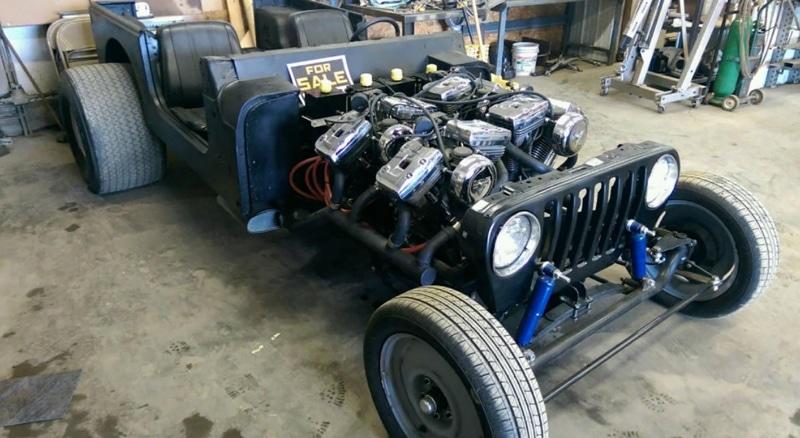 V8 Harley Evolution Jeep