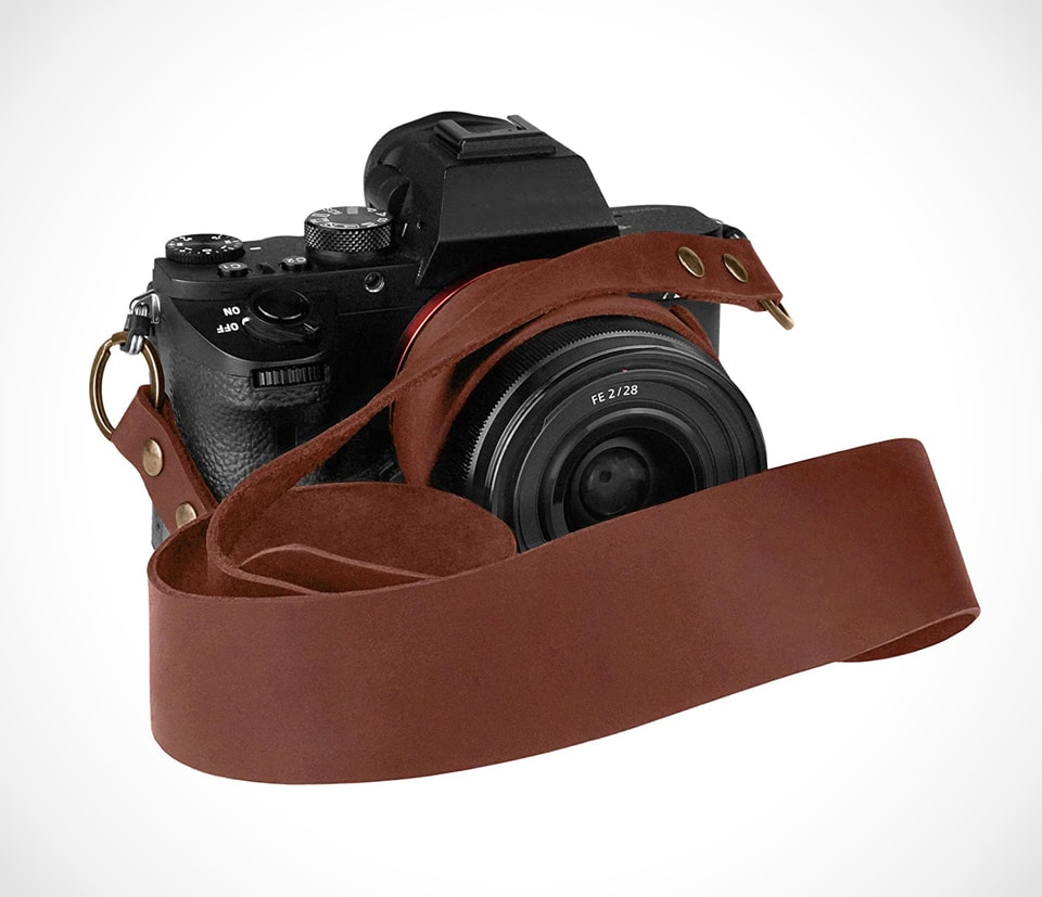 Sing belt leather strap