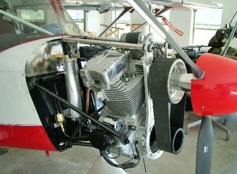 Brett Ray's Twin Cam powered aircraft