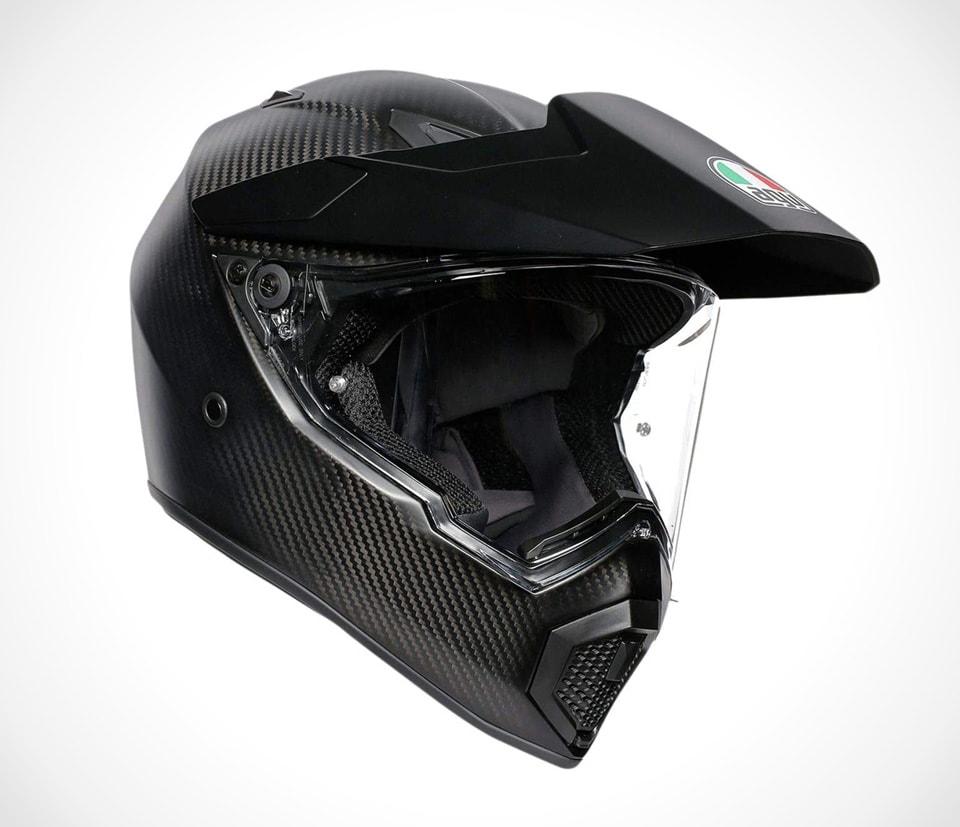 Best certified carbon fiber motorcycle helmets Dainese AGV AX9 Carbon Fiber Full Face Helmet