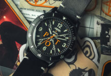 Limited Edition Anthrax Watch by Nezumi