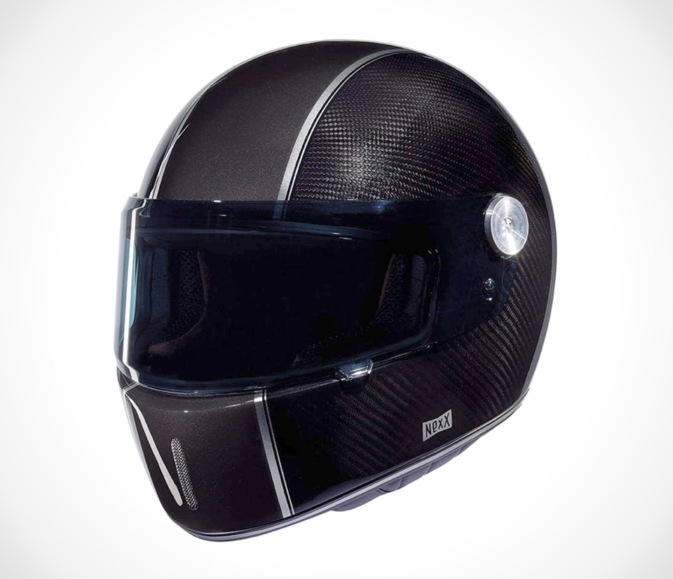 Retro Carbon Helmet