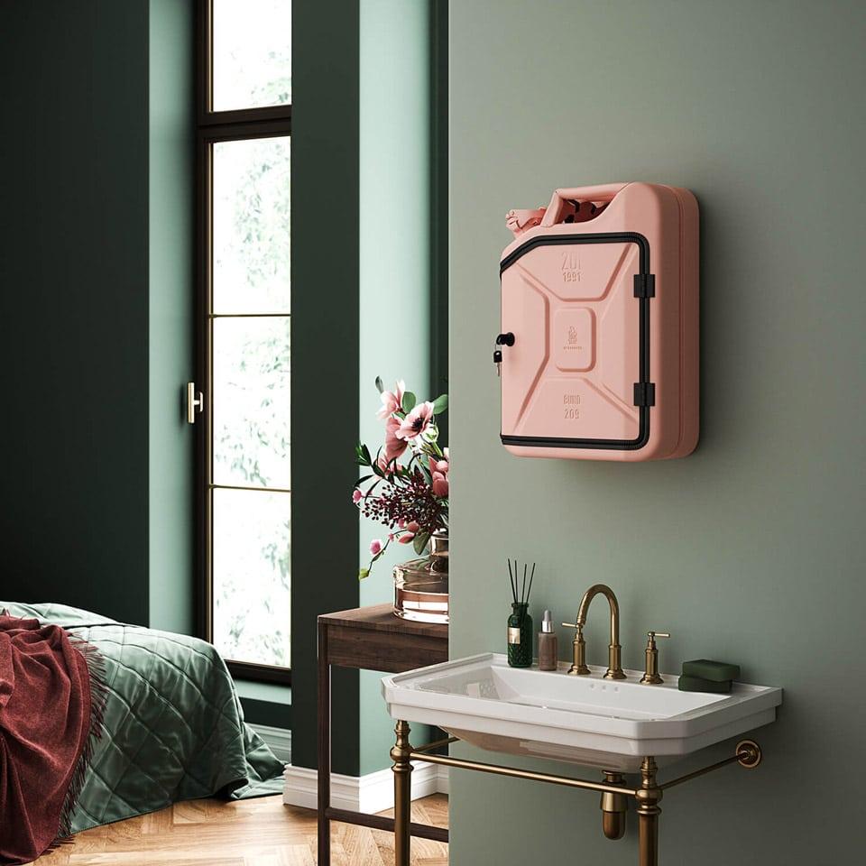 Bathroom Cabinet Jerrycan