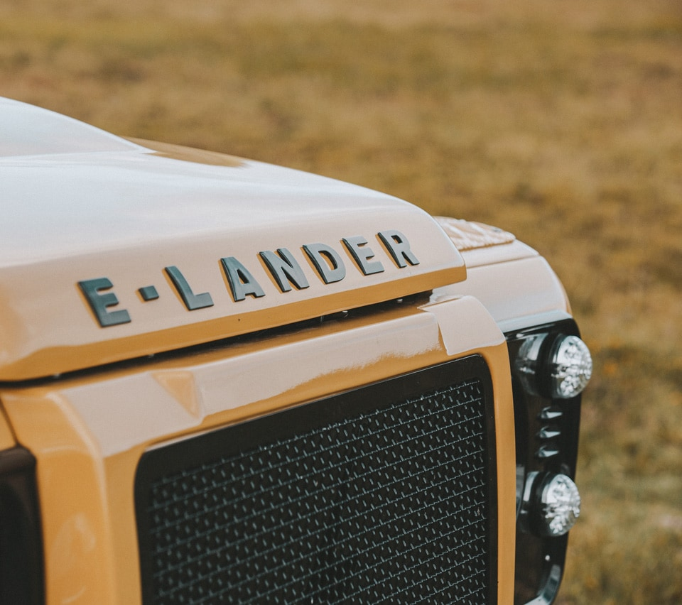 Tesla Powered Custom Electric Land Rover Defender